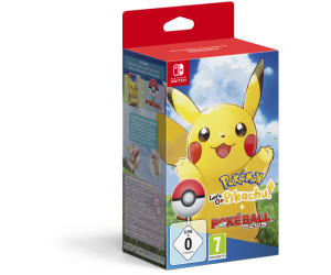Pokemon Let S Go Pikachu Pokeball Plus Switch Ab 89 99