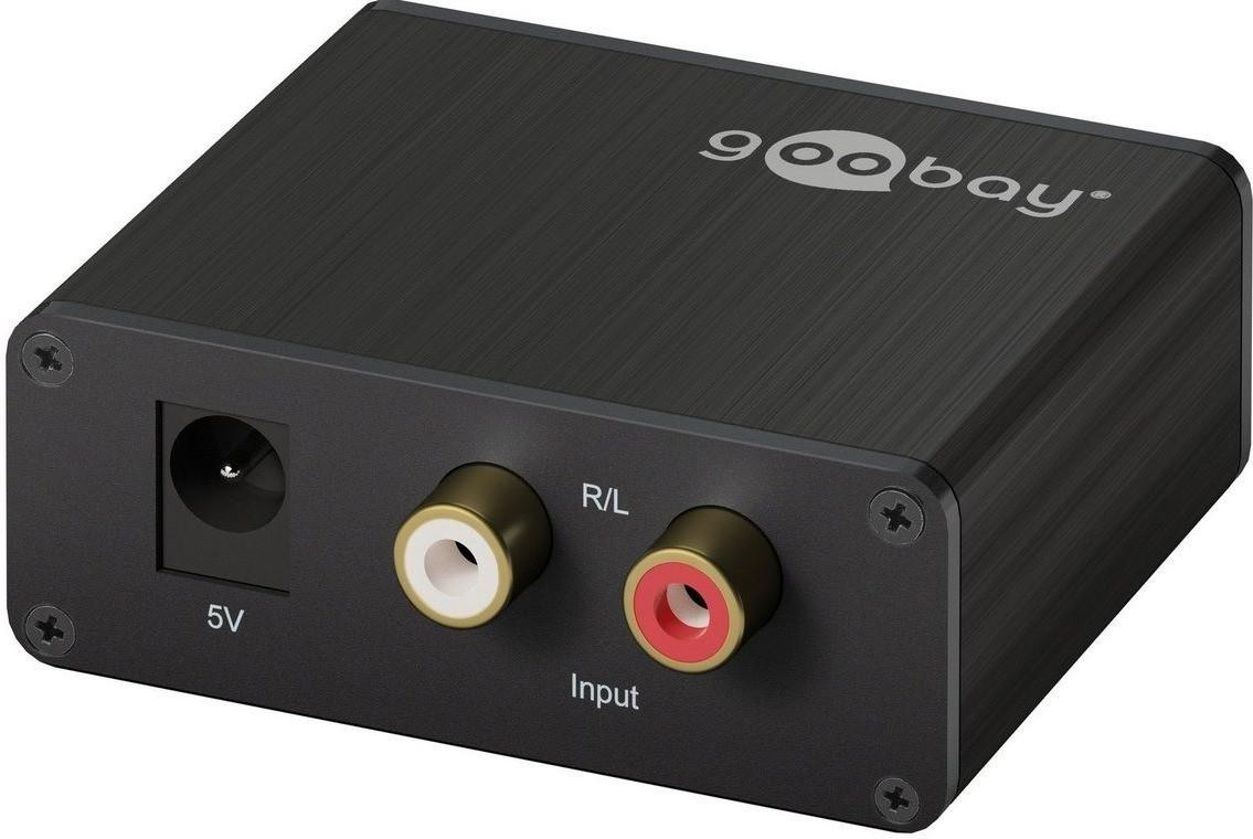 Goobay 58966 Analog/Digital Audio Wandler