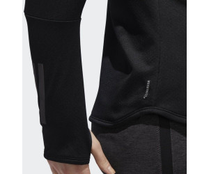 Climawarm Longsleeve Zip 12 Response Au Meilleur Adidas Women Black QrCsxdBth