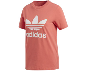 Adidas Originals Trefoil T Shirt Damen trace scarletwhite