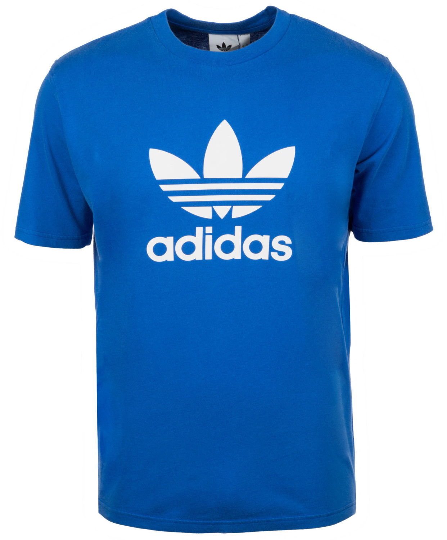 Adidas Originals Camiseta Hombre Trefoil Camiseta cw0703 Azul