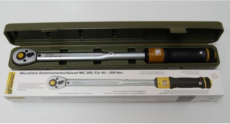 """Voelkner - Proxxon Industrial MicroClick MC 200 23353 Drehmomentschlüssel mit Umschaltknarre 1/2"""""""