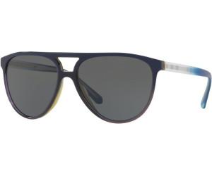 BURBERRY Burberry Herren Sonnenbrille » BE4254«, blau, 366287 - blau/grau