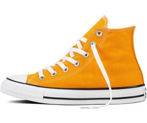 converse orange ray femme