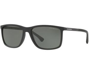 92788fb973f55 Buy Emporio Armani EA4058 56539A (black rubber polar green) from ...