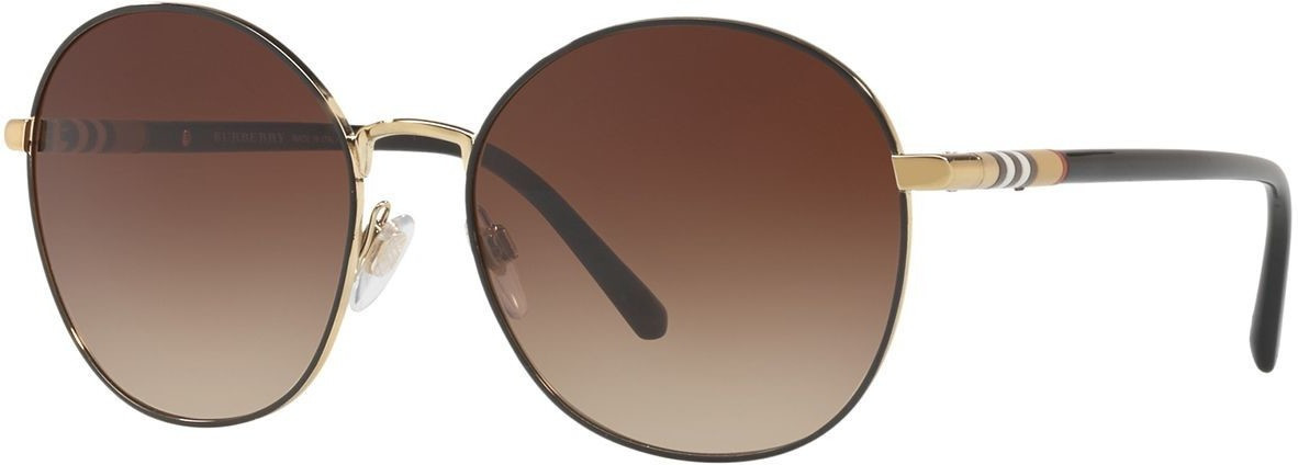 Image of Burberry BE3094 114513 (light gold/brown gradient)