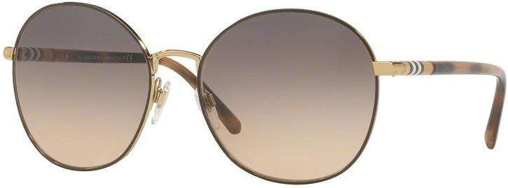 Image of Burberry BE3094 1257G9 (light gold/light brown gradient grey)