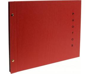 Schraubenalbum Sinfonia Glamour schwarz 30x33 cm
