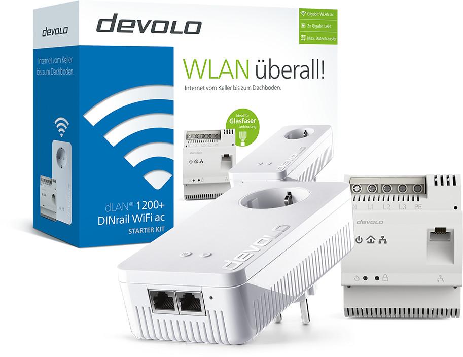 devolo dLAN 1200+ DINrail WiFi AC (8244)