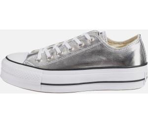addce4013909f7 Buy Converse Converse Chucks Taylor All Star Lift Ox silver (560248C ...