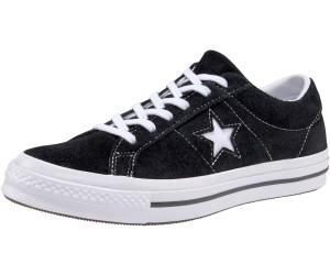 280569138ebc Buy Converse One Star Premium Suede black white white (158369C) from ...