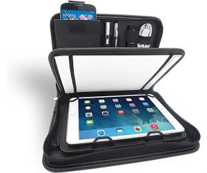 10,5 Zoll mit Universalhalter f/ür Tablet-PC von 24,6 cm 9,7 Zoll Wedo 5874901 Elegance A4 Organizer schwarz bis 26,7 cm