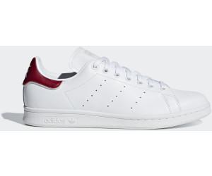 Adidas Collegiale Stan Smith Ftwr Bianco / Ftwr Bianco / Collegiale Adidas Di Borgogna Ab 85,00 d86b6a