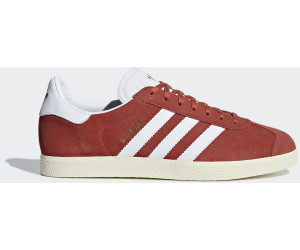 b9f4927b35e Buy Adidas Gazelle Tactile Red Ftwr White Cream White from £44.99 ...
