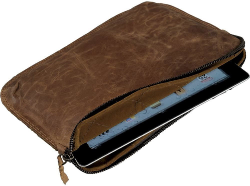 Image of Alassio iPad-Sleeve STYLE brown (601362)