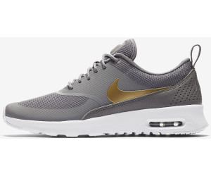 Buy Nike Air Max Thea Women gunsmoke white metallic gold from £82.56 ... 01381c41b