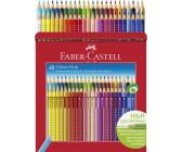 48er Kartonetui FABER-CASTELL Hexagonal-Buntstifte Malstifte ECO