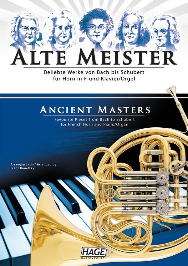 Hage Musikverlag Alte Meister für Horn in F und...