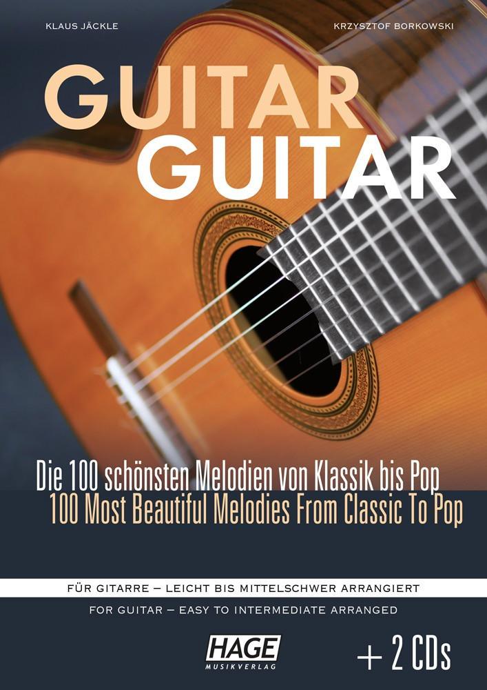 Hage Musikverlag Guitar Guitar (mit 2 CDs)
