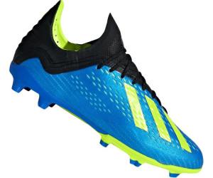 Adidas X 18.1 FG Fußballschuh Kinder football blue solar