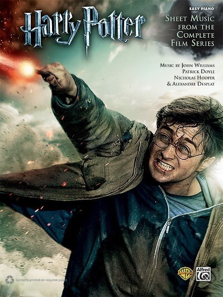 Image of Alfred Music Harry Potter: Sheet Music from the Complete Film Series (Level: Easy Piano)
