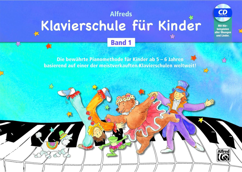 #Alfred Music Alfreds Klavierschule Kinder Bd.1 BK/CD#