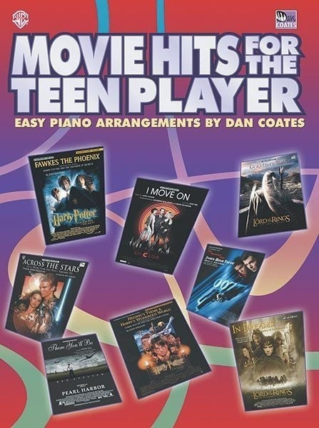 Image of Alfred Music Movie Hits for the Teen Player (Level: Easy Piano)