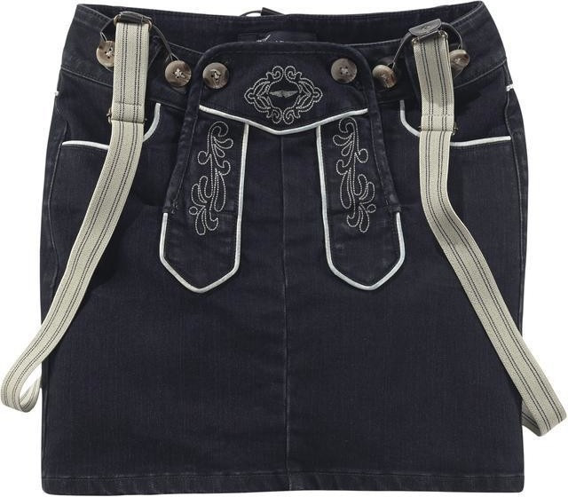 Arizona Jeans Trachtenrock Bavaria rinsed