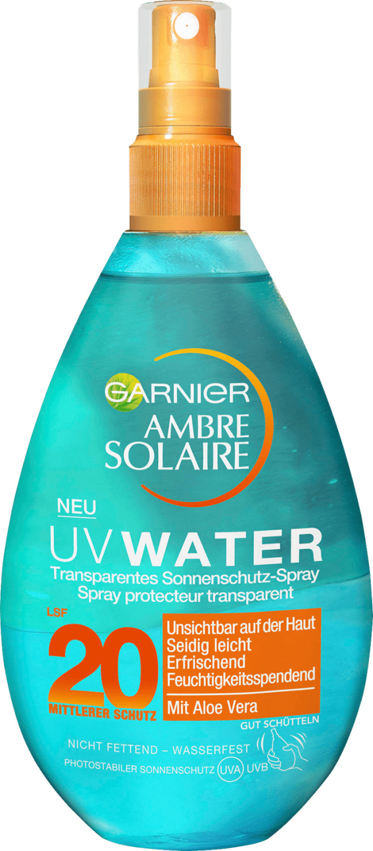 Image of Ambre Solaire Ambre Solaire UV Water Sun Spray SPF 20 (150 ml)