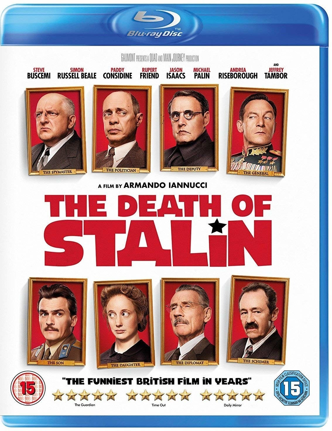 Image of The Death of Stalin [Blu-ray]