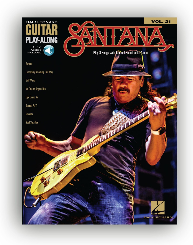 Hal Leonard Santana - Guitar Play-Along Volume 21