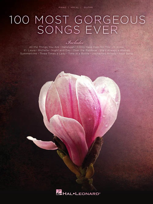 Image of Hal Leonard 100 Most Gorgeous Songs Ever