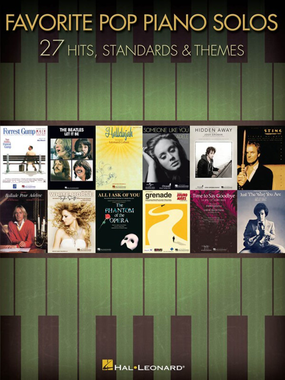 #Hal Leonard Favorite Pop Piano Solos#