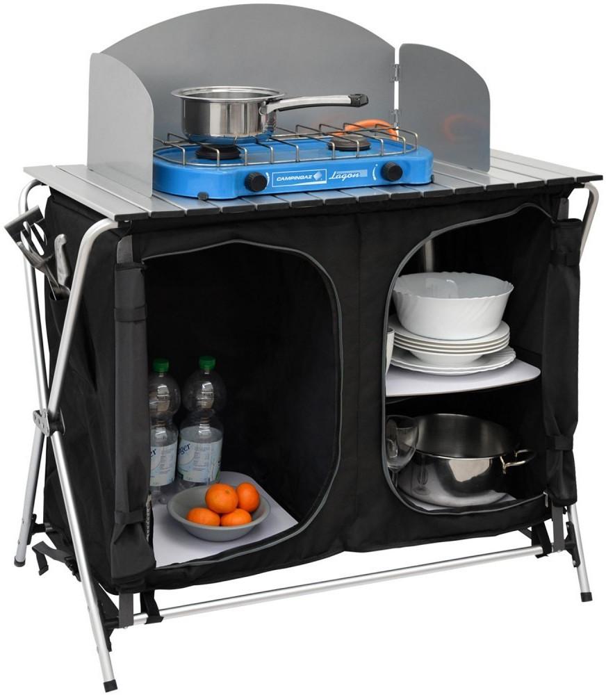 Amanka Camping-Küche inkl Windschutz