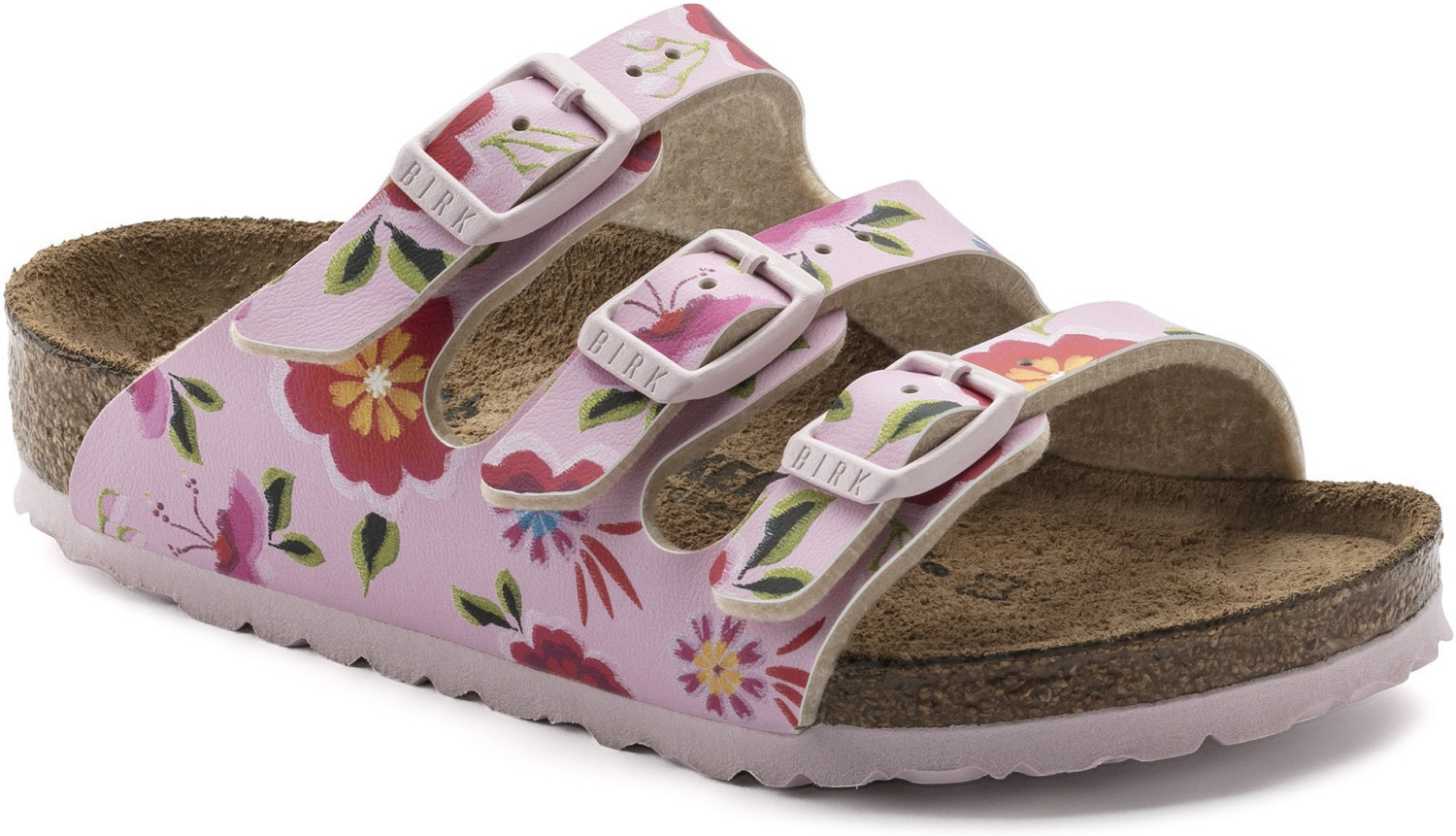 Birkenstock Florida Kids Birko-Flor China Flowe...