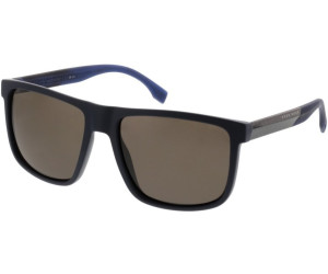 Boss Herren Sonnenbrille » BOSS 0879/S«, blau, 0J9/SP - blau/braun