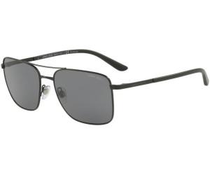 Giorgio Armani Herren Sonnenbrille » AR6065«, schwarz, 300187 - schwarz/grau