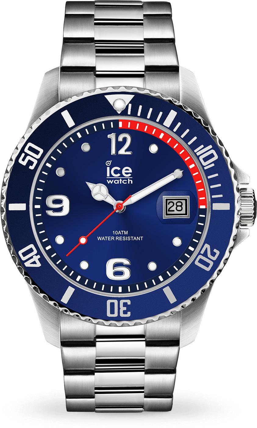 Ice Watch Ice Steel M blue silver (015771)