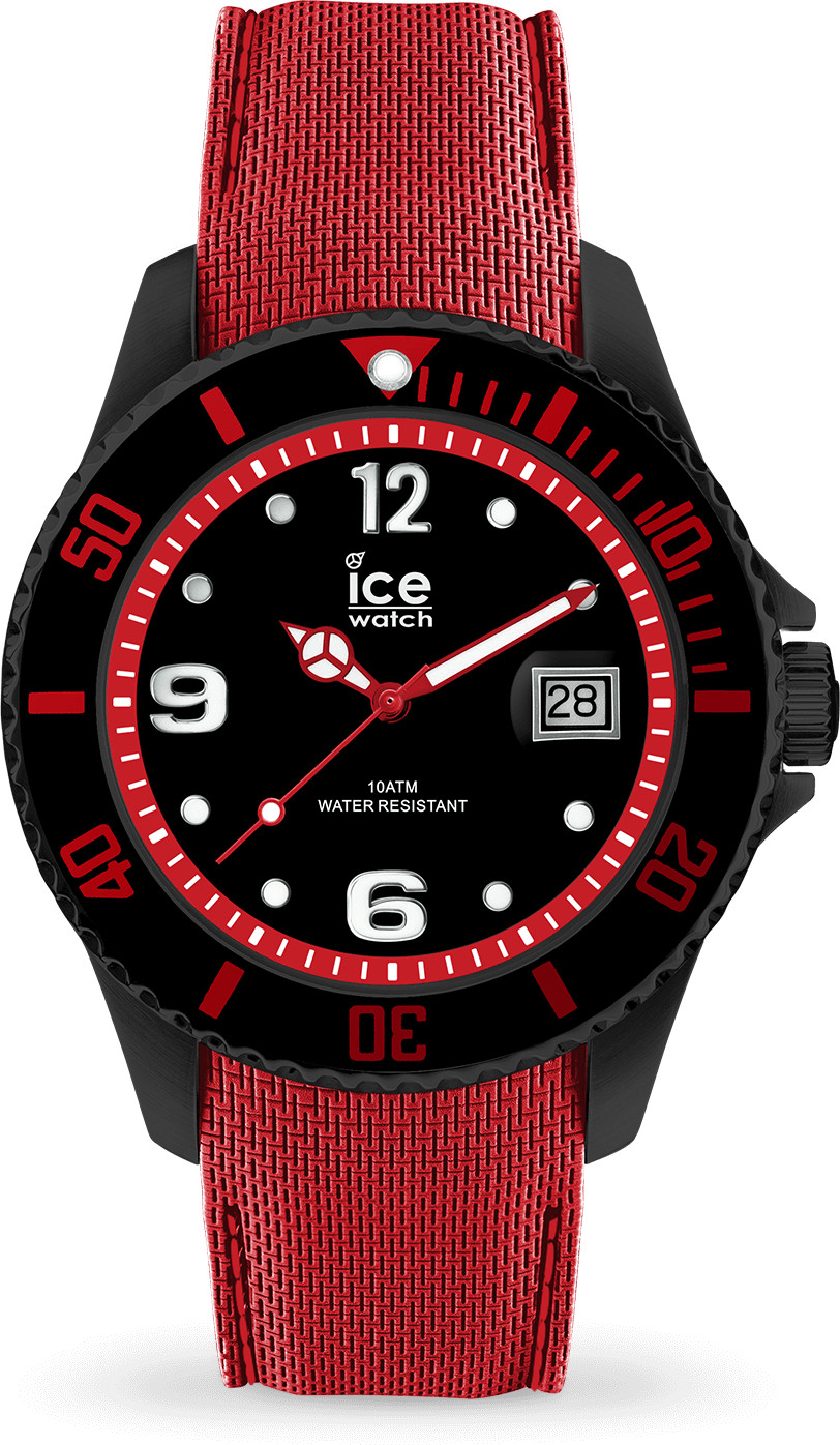 Ice Watch Ice Steel L black red (015782)