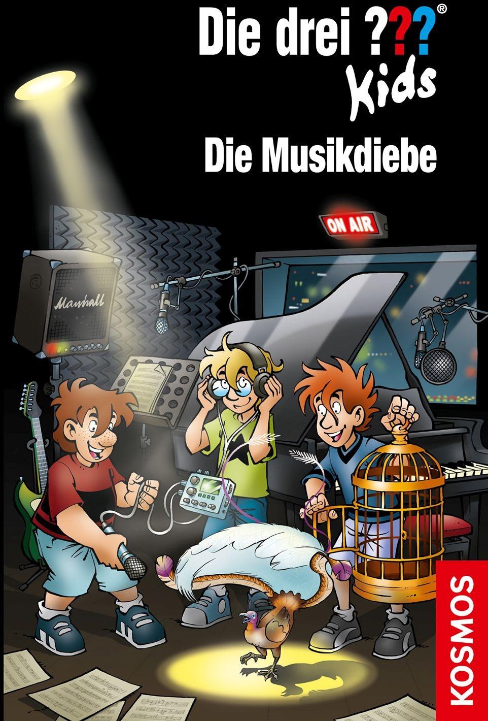 Image of Die drei ??? Kids 77 Die Musikdiebe (Boris Pfeiffer)