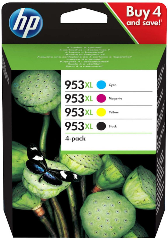HP Nr. 953XL Multipack 4-farbig (3HZ52AE)