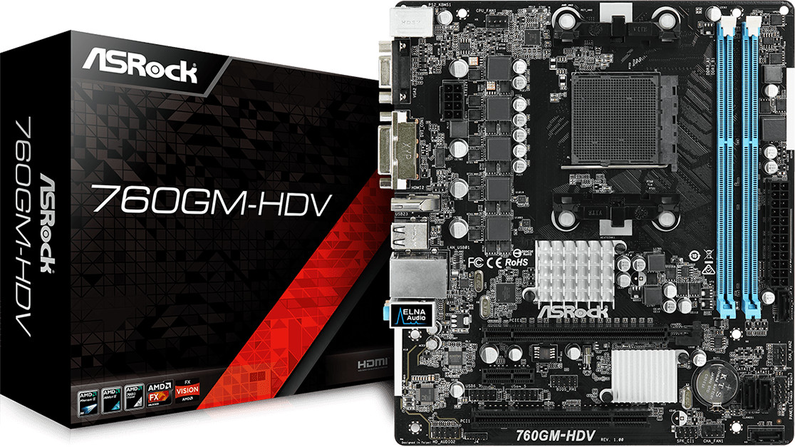 Image of ASRock 760GM-HDV