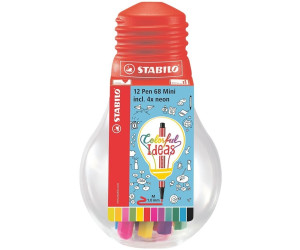 STABILO Fasermaler Pen 68 Mini 12 Stück