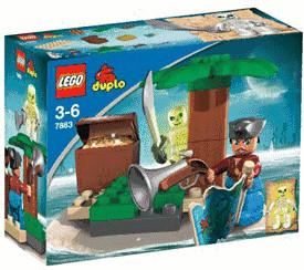 LEGO Duplo - La chasse au trésor (7883)