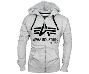 Alpha Industries Big A Classic hoodie black white