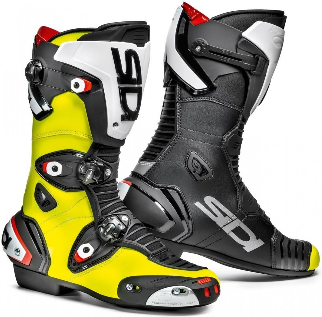 Sidi Mag-1 Air Stiefel schwarz/gelb