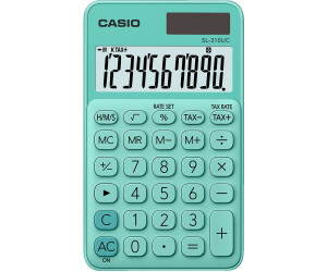 Casio SL 310UC PL Calculatrice de poche Violet