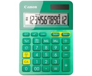 Canon LS-123K Desktop-Taschenrechner 12 Stellen Solarpanel Batterie grün-metalli