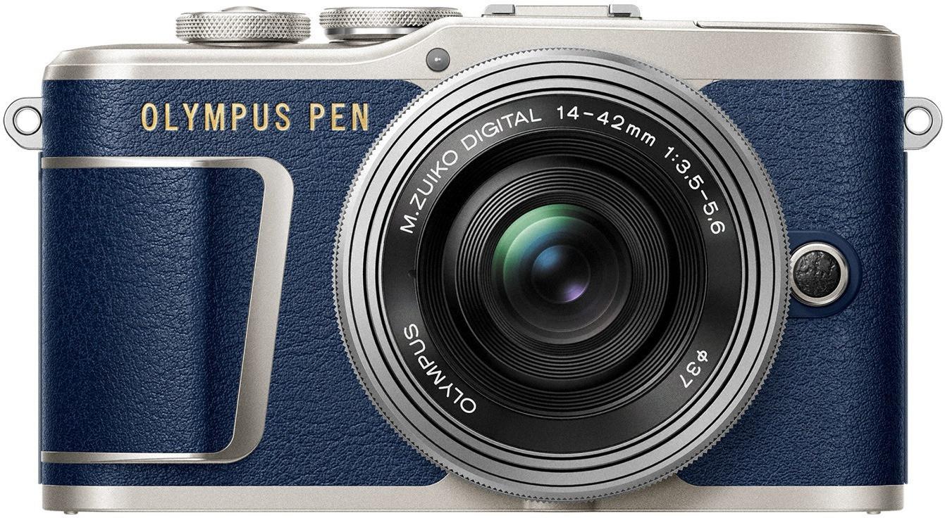 Olympus PEN E‑PL9 Kit 14-42 mm azul