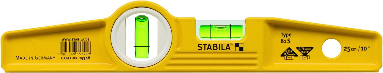 Stabila Type 81 S / 25 cm ohne Tasche (02500)